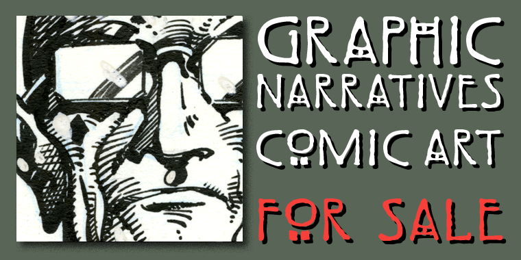 Graphic Narrative - Comics - For Sale
