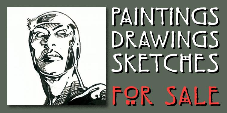 Original art barry windsor smith for Original artwork for sale online