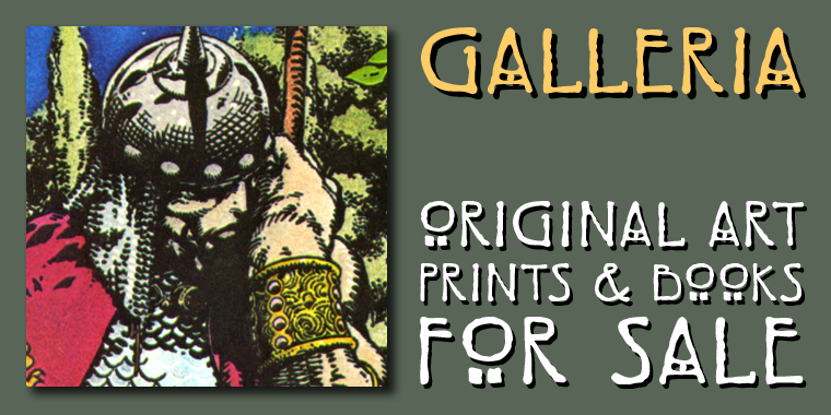 Galleria - Original Art, Prints & Books for Sale