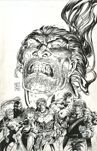 WILDC.A.T.S 20 Cover 1995